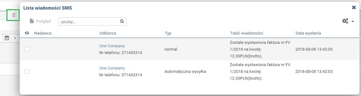4705605b58ed8d Automatyczna wysyłka SMS o wystawionej fakturze z wfirma.pl - Pomoc ...